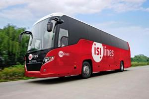 Des bus rouges flamboyants en France ? Isilines inaugure bientôt ses services