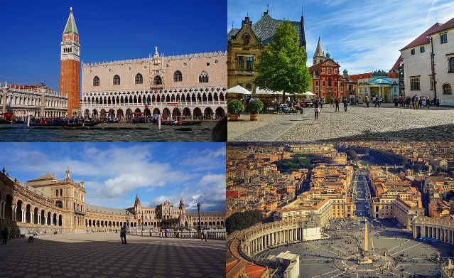 Les plus belles places d'Europe - 1re partie