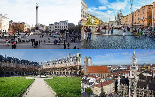 Les plus belles places d'Europe - 2e partie